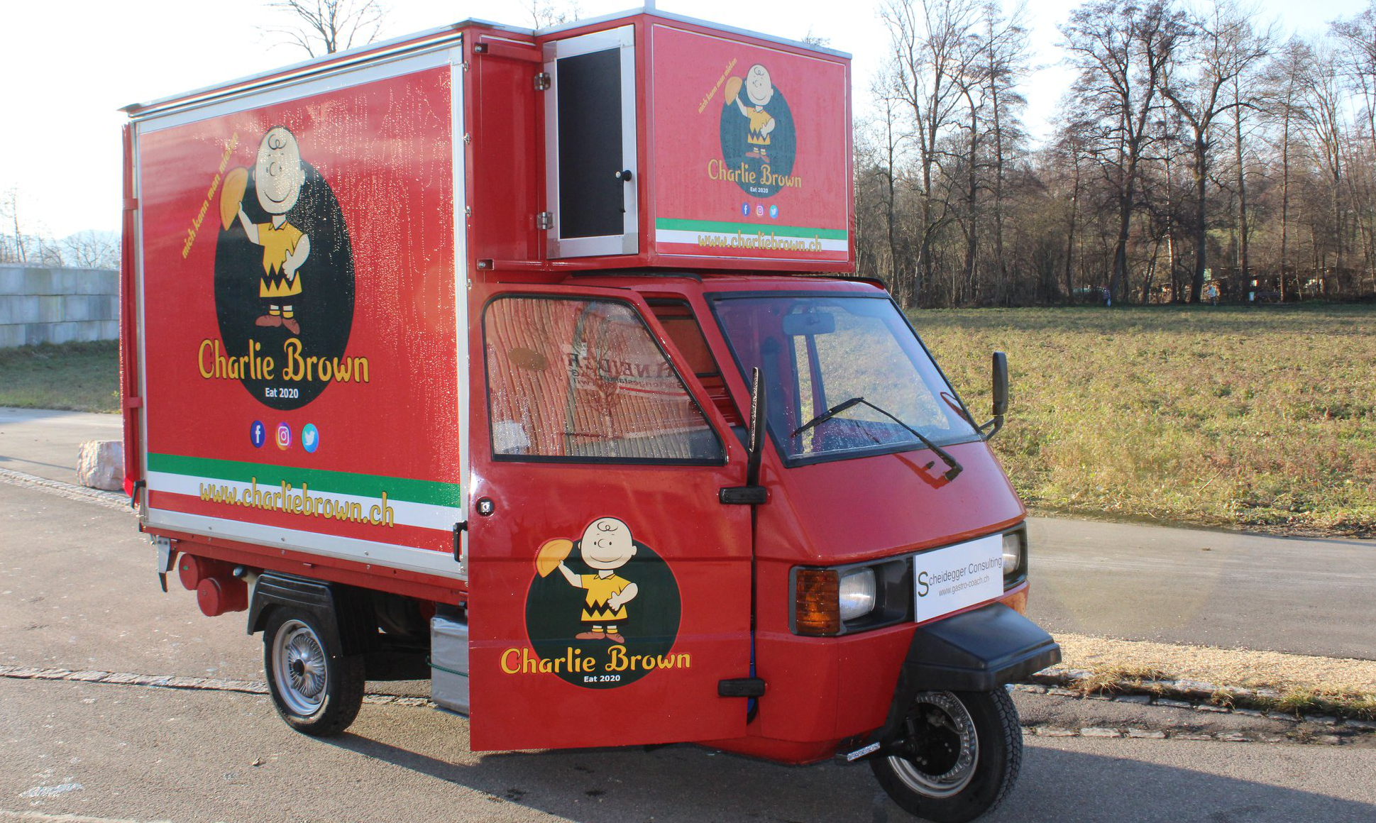 Charlie Brown Foodtruck Foodtruck Verband Schweiz