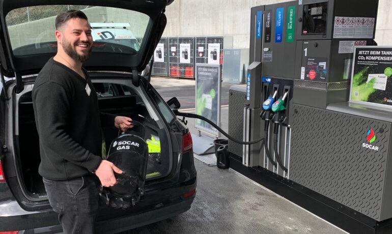 Günstiger Gas & Kraftstoff - Kooperation mit SOCAR